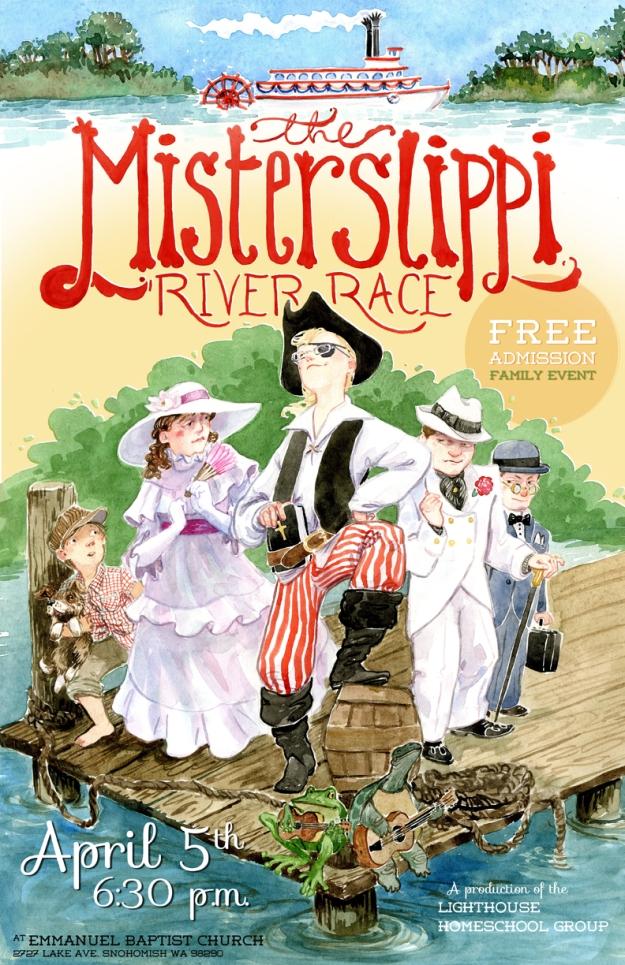 Misterslippi River Race